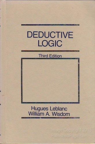 9780132038522: Deductive Logic