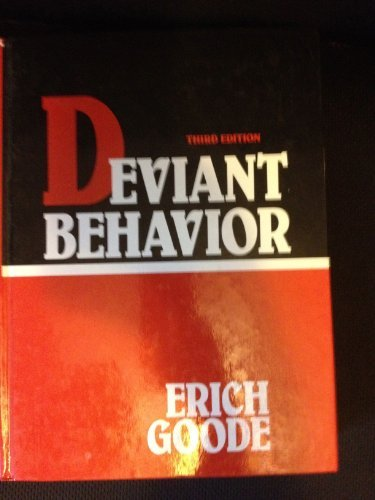 9780132040419: Deviant Behavior