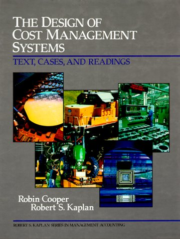 9780132041249: Design of Cost Management Systems: The, Text, Cases and Readings