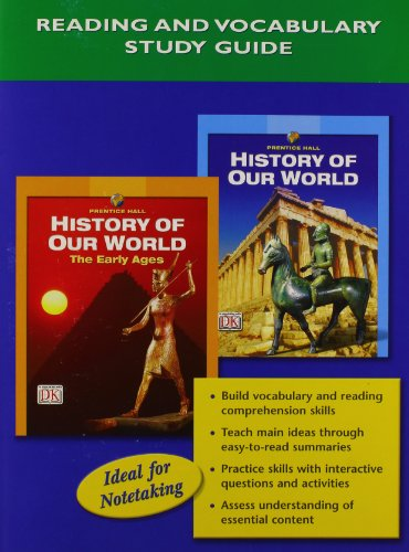 9780132041317: HISTORY OF OUR WORLD READING AND VOCABULARY STUDY GUIDE ENGLISH