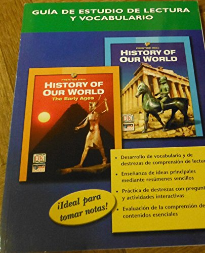 9780132041331: HISTORY OF OUR WORLD READING AND VOCABULARY STUDY GUIDE SPANISH