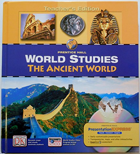 9780132041539: Prentice Hall World Studies: The Ancient World, Teacher's Edition