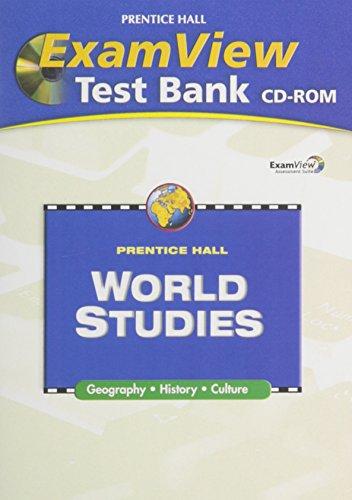 9780132041621: WORLD STUDIES EXAM VIEW TEST BANK CD ROM 2008C