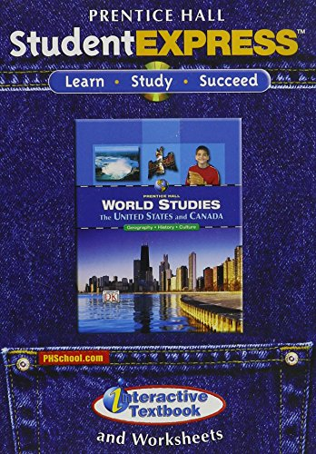 9780132041829: WORLD STUDIES THE UNITED STATES AND CANADA STUDENT EXPRESS CD
