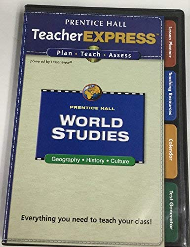 9780132041843: Teacher Express Plan Teach Assess 4 CD-ROM Set (World Studies Geography History Culture)