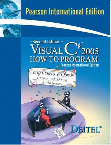 9780132043618: Visual C# How to Program