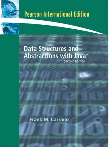 9780132043670: Data Structures and Abstractions with Java: International Edition