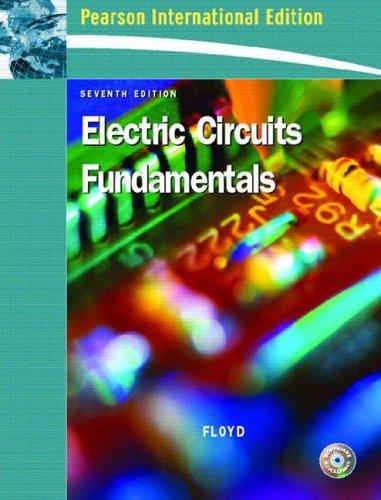 9780132047340: Electric Circuit Fundamentals: International Edition