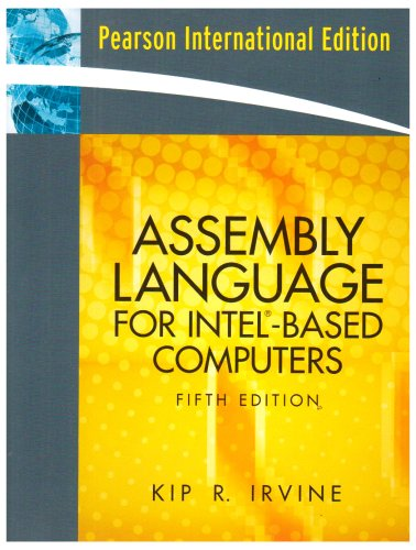 9780132048484: Assembly Language For Intel Based Computers