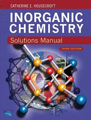 9780132048491: Solutions Manual Inorganic Chemistry 3e
