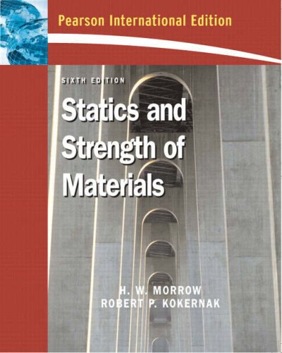 9780132048606: Statics and Strength of Materials