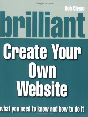 9780132048774: Brilliant Create Your Own Website