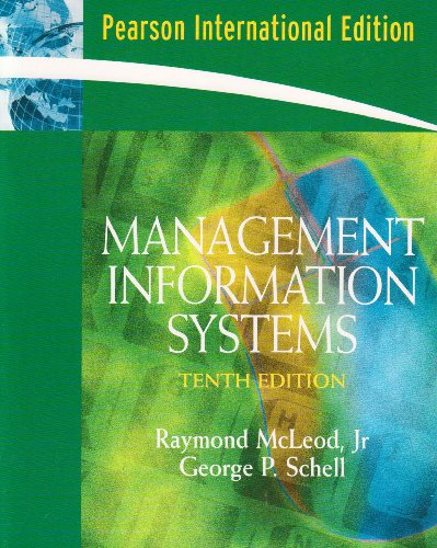 9780132050296: Management Information Systems