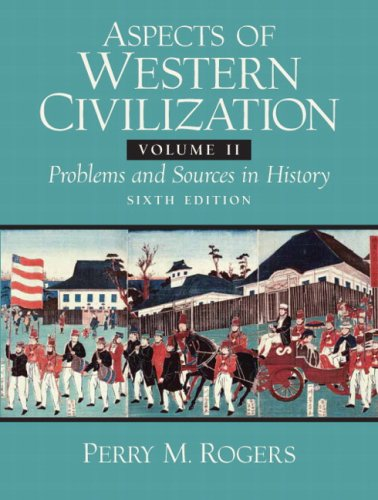 9780132050494: Aspects of Western Civilizations: v. 2: Problems and Sources in History