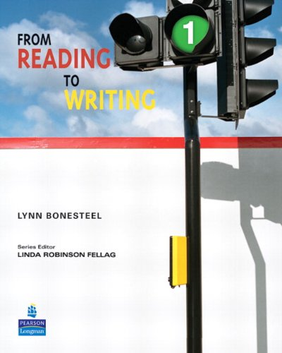 9780132050661: From Reading to Writing 1