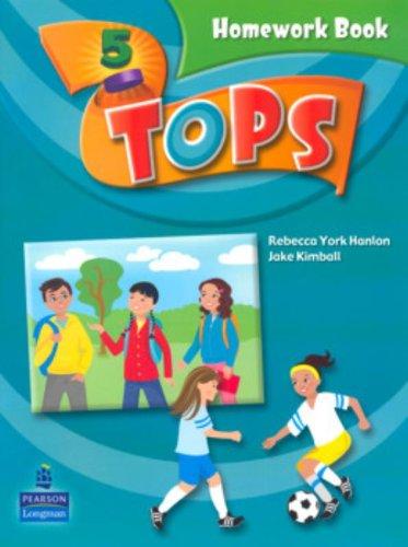 9780132050760: Tops Homework Book: Level 5