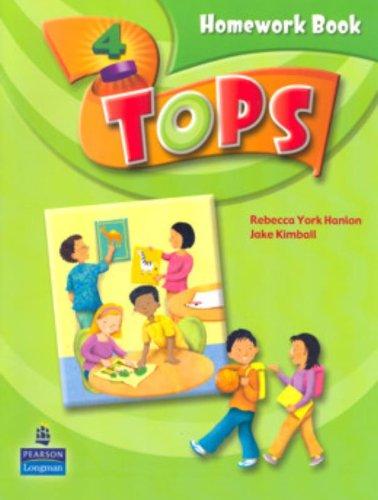 9780132051248: Tops Homework Book: Level 4