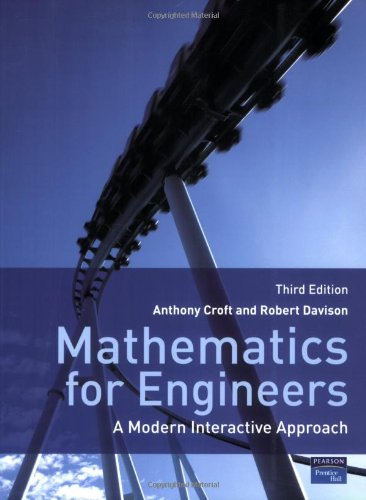 9780132051569: Mathematics for Engineers:A Modern Interactive Approach