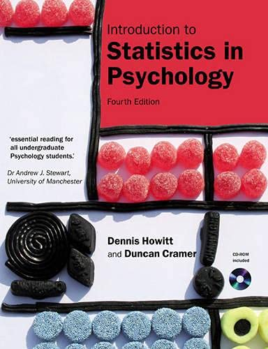 9780132051613: Introduction to Statistics in Psychology