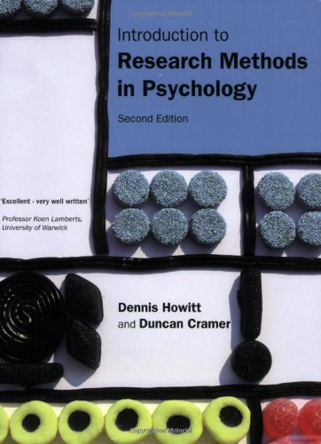 9780132051637: Introduction to Research Methods in Psychology