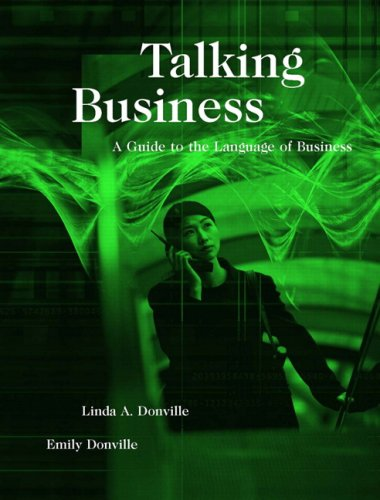 9780132052009: Talking Business: A Guide to the Language of Business