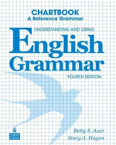 9780132052108: Understanding and Using English Grammar Chartbook