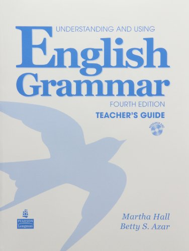 9780132052115: Understanding and Using English Grammar Teacher's Guide, 4th Edition