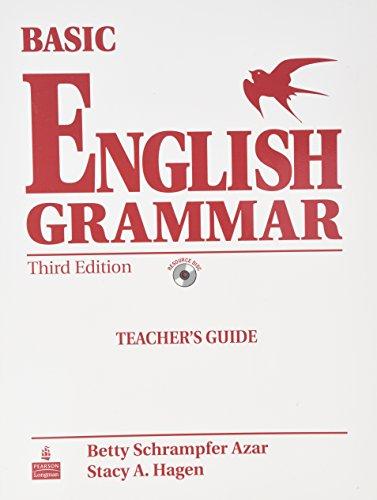 9780132052153: Basic for English Grammar: Teacher's Guide. 3rd Edition [Paperback]