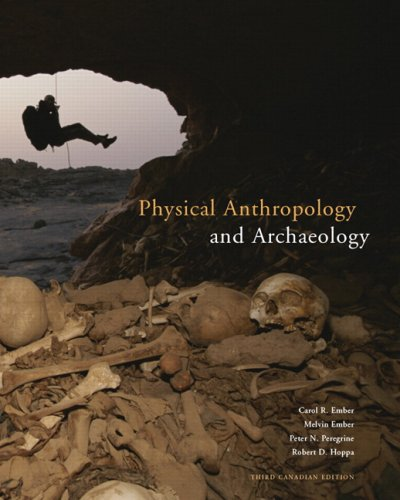 9780132053723: Physical Anthropology and Archaeology, Third Canadian Edition (3rd Edition)