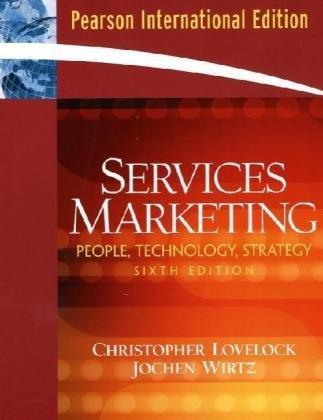 9780132056762: Services Marketing: People, Technology, Strategy