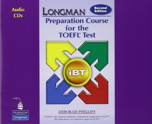 9780132056854: Longman Preparation Course for the TOEFL Test: iBT: Audio CDs