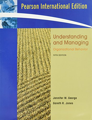 9780132057035: Understanding and Managing Organizational Behavior