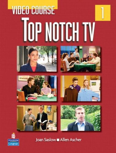 9780132058612: Top Notch TV 1 Video Course: Video Course Level 1