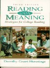 9780132058735: Reading With Meaning: Strategies for College Reading
