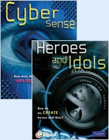 9780132058841: Literacy in Action 8: Heroes & Idols/Cyber Sense