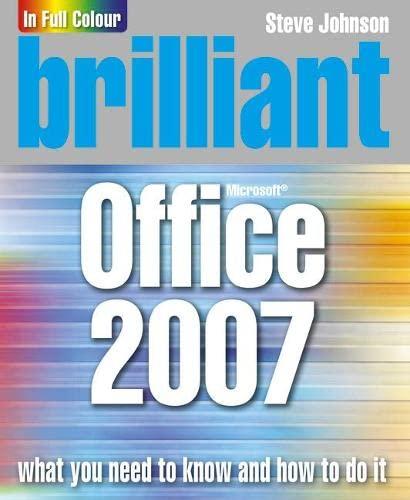 9780132058919: Brilliant Office 2007