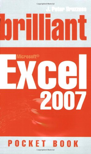 9780132059220: Brilliant Excel 2007: Pocket Book (Brilliant Computing)