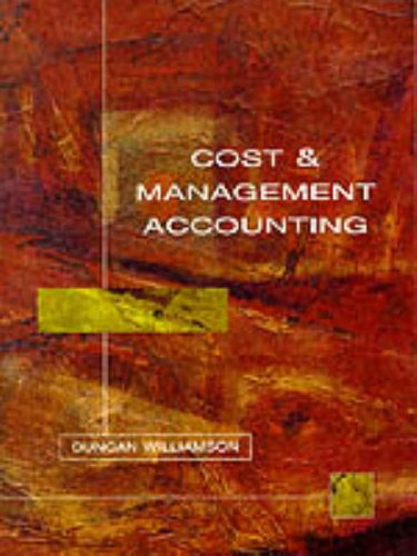 9780132059237: Cost and Management Accounting