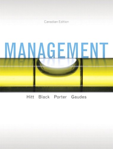 9780132059633: Management, Canadian Edition