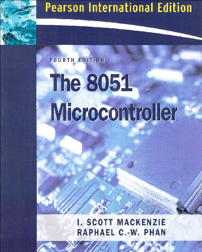9780132059756: The 8051 Microcontroller