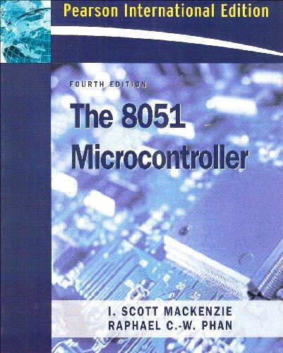 9780132059756: The 8051 Microcontroller: International Edition