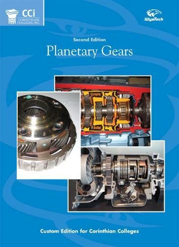 9780132060547: Planetary Gears Au