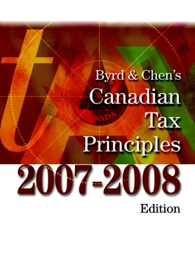 9780132062947: BYRD+.CANADIAN TAX PRIN.-W/S.G.+CD