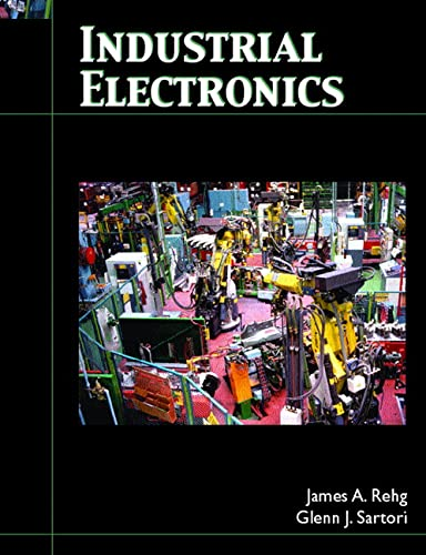 Industrial Electronics 9780132064187 This direct, easy-to-read book provides comprehensive coverage of industrial electronic topics, exploring the many processes used in the production of all goods and services. It contains abundant worked example solutions, problems tied to actual industrial electronic examples, and troubleshooting techniques. Coverage of a broad range of industrial electronics topics includes all the traditional areas plus complete coverage of safety, troubleshooting, motors, PLCs, robots, process control, controllers and industrial networks. For technology learners to better understandthe operation of the electronics used in industry.