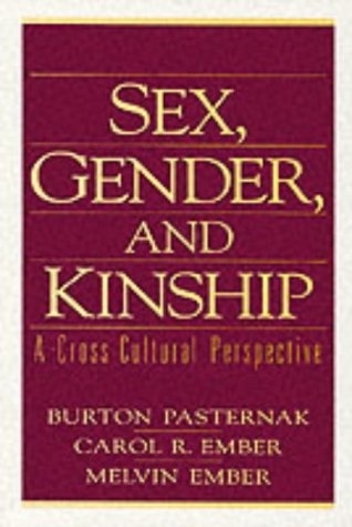 9780132065337: Sex, Gender, and Kinship: A Cross-Cultural Perspective