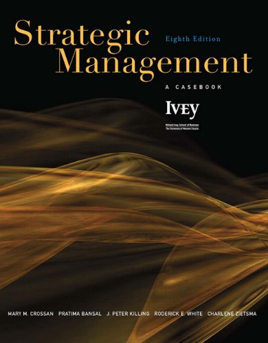 9780132066679: Strategic Management: A Casebook (8th Edition)