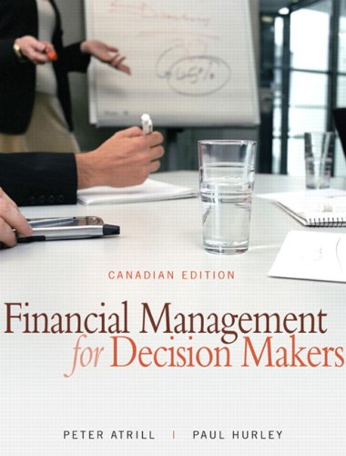 9780132066754: Financial Management for Decision Makers, Canadian Edition