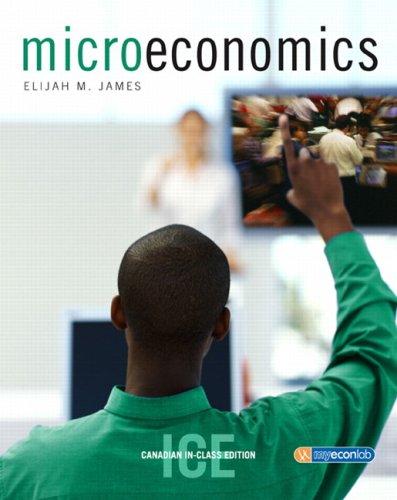 Microeconomics: Elijah M. James