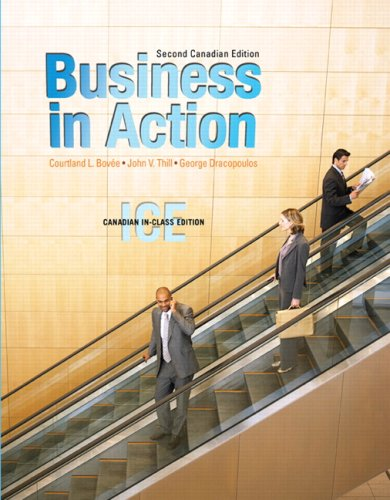 9780132066914: Business in Action, Second Canadian Edition, In-Class Edition (2nd Edition)