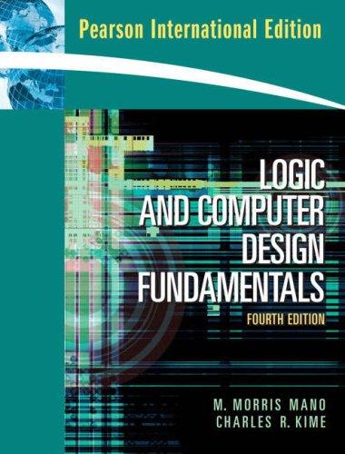 9780132067119: Logic and Computer Design Fundamentals